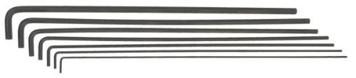 Long Arm Allen Wrench (Bondhus 25445 Hex L-Wrenches with 12-Inch Long Arm, Set of 7)