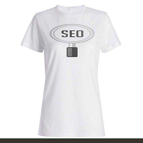 SEO Boss Lupa Lustige Neuheit Neu Damen T-shirt k43f