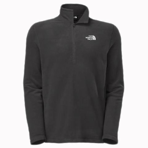 The North Face TKA 100 Glacier 1/4 ZIP Jacket - Men's Asphal