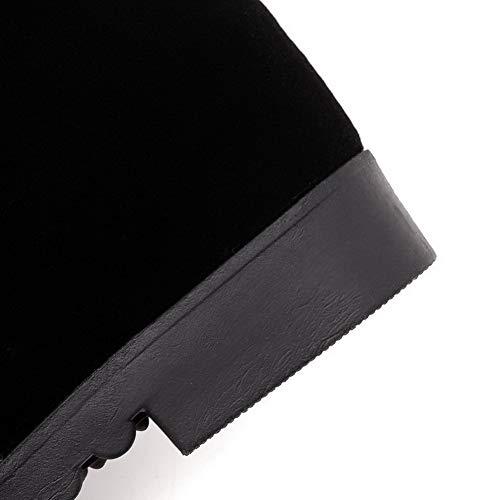 Femme Abl11651 Noir Balamasa Sandales Compensées XztxfwPXZq