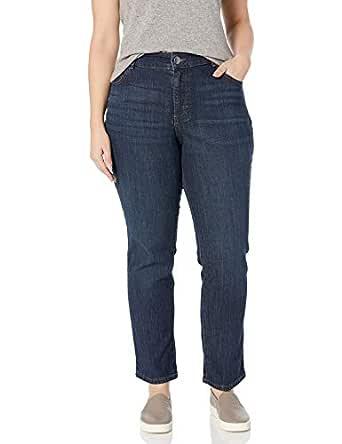 Lee Women's Plus Size Relaxed Fit Straight Leg Jean, Verona, 22W Long
