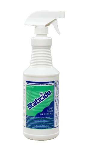 ACL Staticide 2005 Regular Heavy Duty Topical Anti-Stat, 1 qt Trigger Sprayer - Anti Static Device