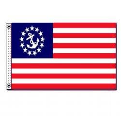 Annin U.S. Yacht Ensign 12 x 18-Inch Sewn US Nyl-Glo Flag Review