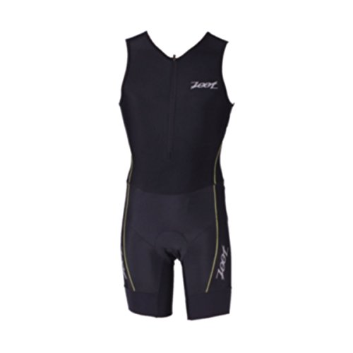 ZOOT Men's Performance Tri Race Suit, Black/Purple Yellow, X-Small