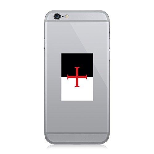 RDW Knights Templar Flag - Cell Phone Sticker - Decal - Die Cut