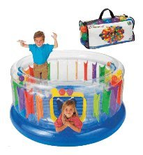 Ring Bounce Jump-O-Lene Fun Pack - Packaged with 100 Balls