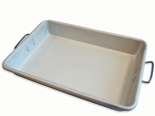 Alegacy A12183 Professional Heavy Weight Aluminum Roast Pan, 12 by 18 by 3-1/2-Inch by Alegacy