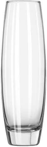 Libbey 7 1 2 Inch Elite Bud Vase in Clear, Set of 12