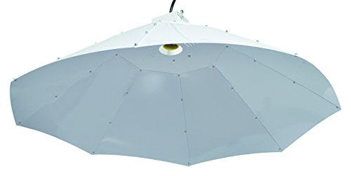 Hydro Crunch Parabolic Vertical Grow Light Reflector Hood by Hydro Crunch