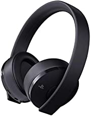 Sony PS4 Gold Wireless Stereo Headset, Black