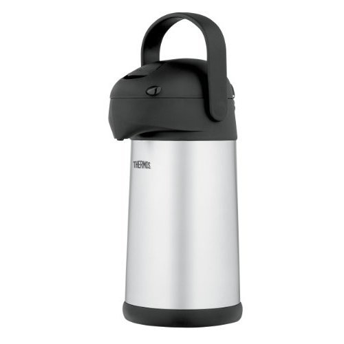 Thermos Stainless Steel 2.7-Quart Pump Pot by Thermos