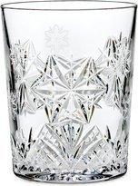 Snowflake Wishes Peace Double Old Fashioned Glass Color: Clear