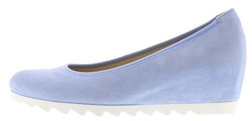 Gabor - Botas de piel para mujer azul azul celeste