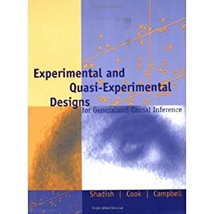 Experimental And Quasi Experimental Designs For Research Pdf