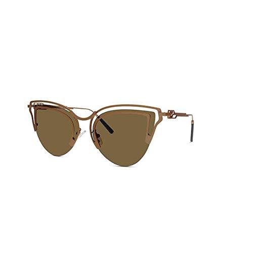 Women's Trendy Sunglasses Brown ()