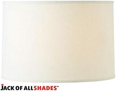14 X 14 X 10 Linen Drum Lampshade White Amazon Com