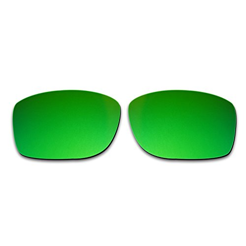 115a3b0297 Hkuco Mens Replacement Lenses For Oakley Jupiter Squared Blue Titanium Emerald  Green Sunglasses De