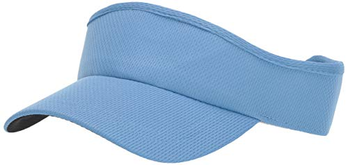 Headsweats 7714-847 Velocity Visor Sweat Band, Light Blue, One Size