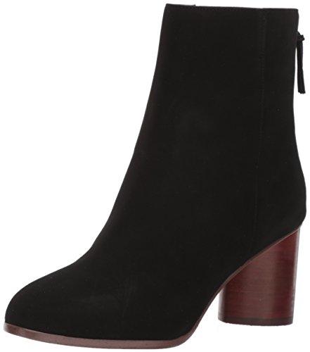 STEVEN by Steve Madden Women's Veronica Ankle Bootie, Black Nubuck, 9 M US