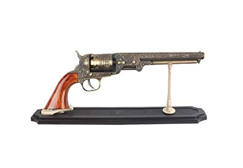 (US Decorative Western Style Navy Revolver Display)