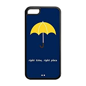 LJF phone case LeonardCustom Protective Hard Snap On TPU Rubber Phone Case for iPhone 5C , HIMYM How I Met Your Mother