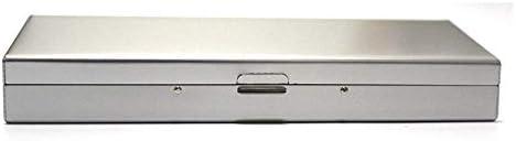 メガネ収納ボックス サングラスボックスポリゴンアルミ合金のメガネケースクリエイティブパーソナリティ省スペースミラーボックスシルバー 多機能ストレージ