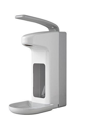 Temdex Spender Kunststoff für Desinfektionsmittel oder Seife mit Schale