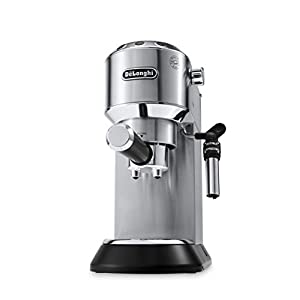 De'Longhi Dedica EC685.M Macchina da Caffè Espresso Manuale e Cappuccino, Caffè in Polvere o in Cialde E.S.E., 1350 W… 12