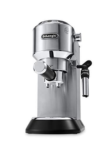 De'longhi Dedica – Cafetera de Bomba de Acero Inoxidable para Café Molido o Monodosis, Cafetera para Espresso y…