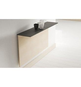 Centro hogar sánchez Mesa abatible 110x25 con encimera laminada Click: Amazon.es: Hogar