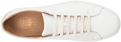 TCG Lace Kennedy Up Leather Sneaker Men's Top Premium White All Low TqRw7TnrI0