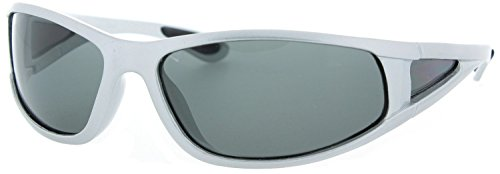 Fiore Polarized Floating Sunglasses for Fishing, Boating and Water Activities (Silver)