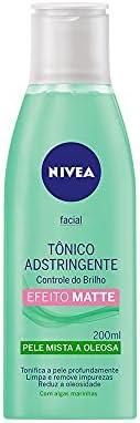Tônico Adstringente Facial Nivea Controle do Brilho 200Ml, Nivea