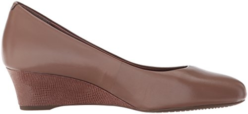 Catrin Women's Rich Motion Rockport Pump Taupe Wedge Leather Total qatRwdF