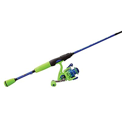 Lews Fishing WMSS10060ML Wally Marshall Speed Shooter Spinning Combo, 5.1: Ratio, 4+1 Bearings, 6' Length, 1Piece, Medium/Light Power. Ambidextrous