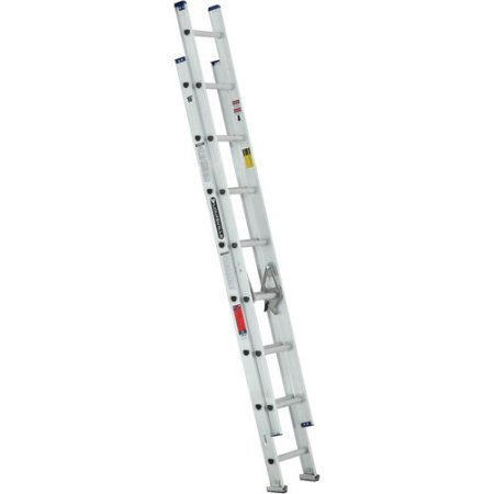 2. Louisville Ladder 16' Aluminum Extension Ladder