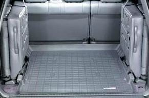 1998-2007 Toyota Land Cruiser Grey WeatherTech Cargo Liner [For Vehicles with 3rd Row Seats]