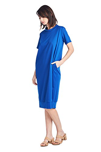 Various Mid Long Days Comfortable Styles Royal Dresses 82 Blue Jersey 1 Women's gESZR
