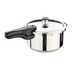 Presto 4-Quart Stainless Steel Pressure Cooker, 01341