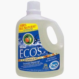 Earth Friendly Products Laundry ECOS® Magnolia & Lily 210 oz. Case of 2