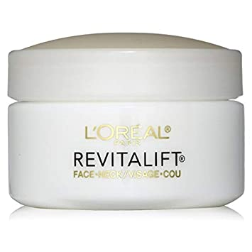 Amazon.com: L'Oreal Revitalift Face & Neck Anti-Wrinkle & Firming Moisturizer  Day Cream 1.70 oz: Health & Personal Care