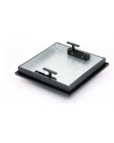 T1G3. 220 To 300 X 43.5mm Square-To-Round, Sealed & Locking Recessed Manhole Cover Clark Drain