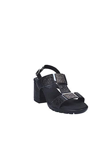22806 Callaghan Noir Femme Talon Sandale Chaussures xwBBqvrXIc