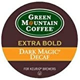 Green Mountain Dark Magic Decaf Extra Bold Coffee 5 Boxes of 24 K-Cups