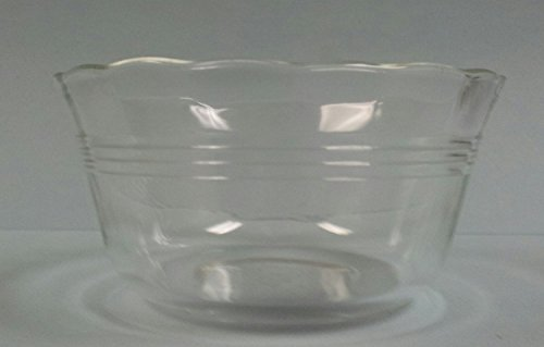 Vintage Pyrex # 463 3-Ring Scallop Edge Custard Cup