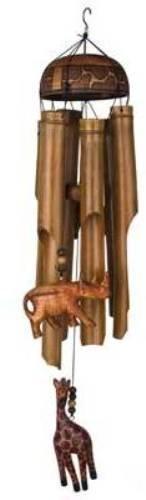 Woodstock African Trio Bamboo Chime- Asli Arts (African Trio)
