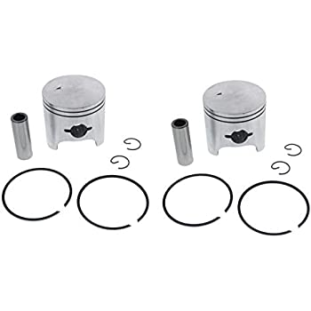 Piston Kit fits Arctic Cat ZL 440 1997-1999 Snowmobile by Race-Driven