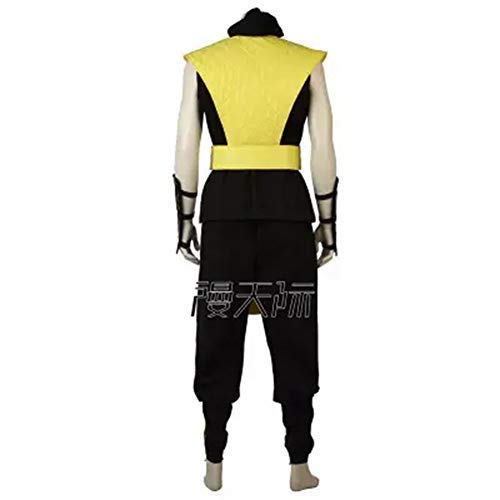 (Mortal Kombat X Scorpion Hanzo Hasashi Cosplay Adult Costume Full Set Custom Made Outfit (Female)