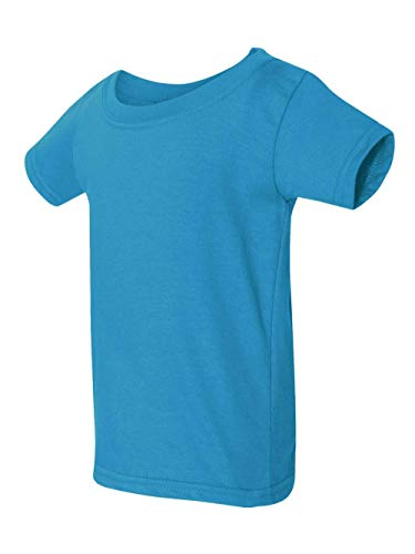 Gildan Toddler Softstyle 45 oz T-Shirt - Sapphire - 3T - (Style # G645P - Original Label)