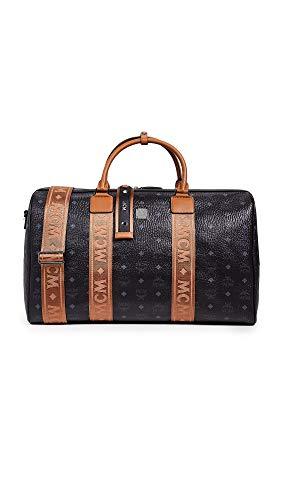MCM Mens Traveler Visetos Weekender 50 Black One Size